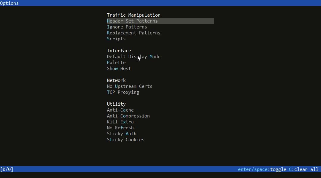 UI Concept · Issue #7 · mitmproxy/mitmweb · GitHub